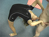 Extreme flexible backbend sucks.
